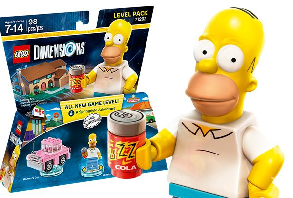 The Simpsons™ Level Pakket - Homer