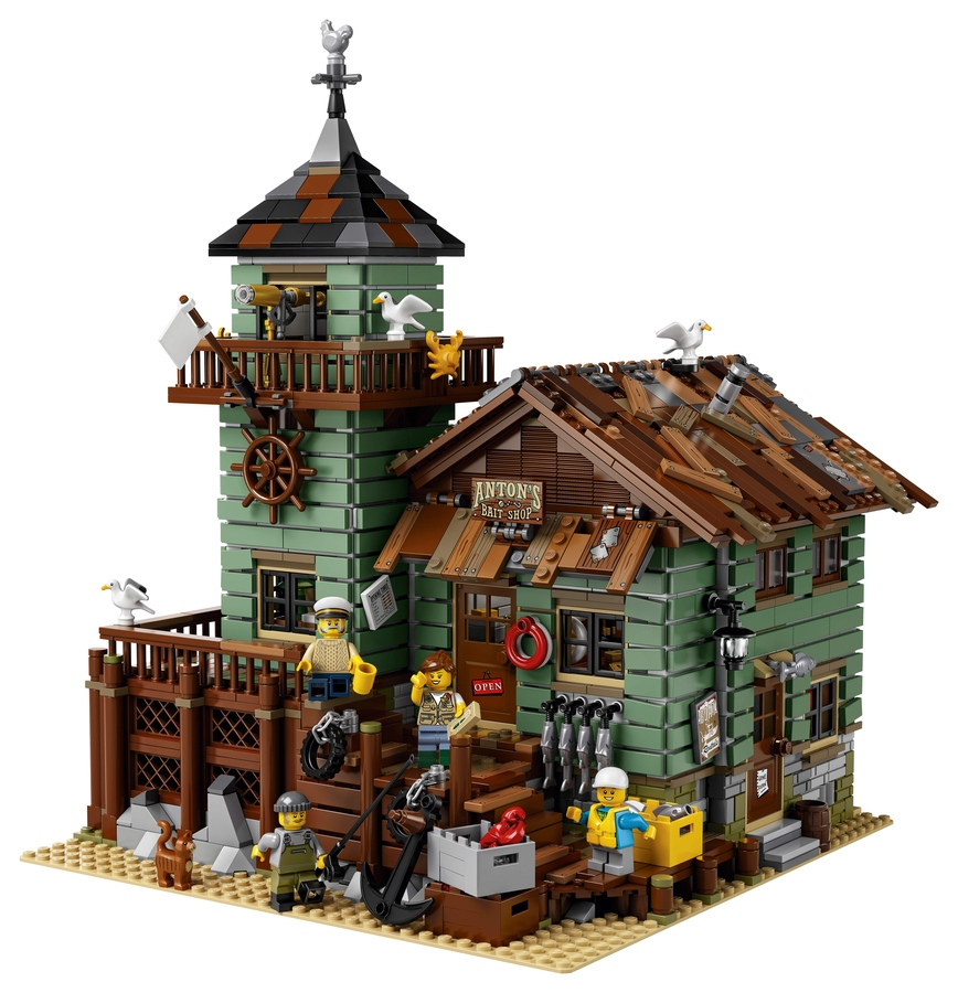 Aangekondigd; Lego Ideas 21310 Old Fishing Store