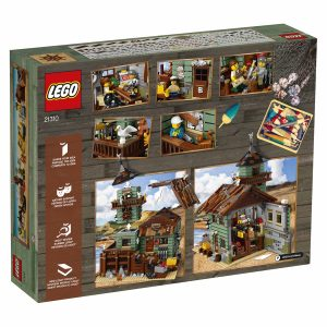 Aangekondigd; Lego Ideas 21310 Old Fishing Store box back